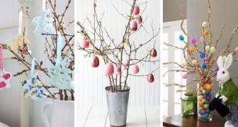 Alberi di Pasqua: le decorazioni più belle con cui arricchire la casa in primavera