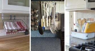 Fai spazio in cucina con questi portaoggetti fai-da-te e altre soluzioni super-pratiche