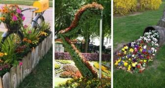 Riciclo in giardino: rendi unico e affascinante il tuo spazio verde grazie ai vecchi oggetti