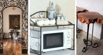 Arreda con eleganza ogni spazio di casa grazie al ferro battuto: 15 spunti irresistibili