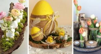 Pâques à l'enseigne de la nature avec ces 12 décorations charmantes faites de troncs et de branches en bois