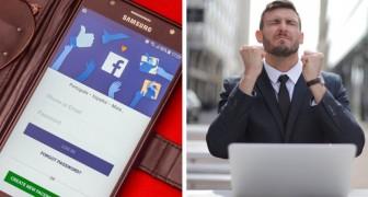 Aggiorna lo stato sentimentale su Facebook da sposato a single: il giudice gli addebita il costo della separazione