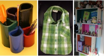 Create abiti e accessori per bambini con questi ingegnosi progetti di riciclo creativo