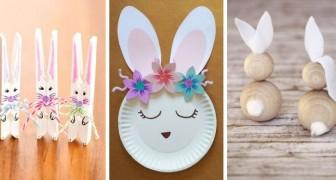 Lapins de Pâques : de nombreux petits travaux créatifs pour les enfants