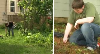 Questa scuola permette agli studenti di scegliere attività di giardinaggio per aiutare anziani e disabili