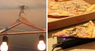 15 photos amusantes de personnes qui ont trouvé des solutions ingénieuses à des problèmes courants