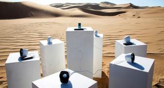 Africa dei Toto suonerà per sempre nel deserto della Namibia: la curiosa installazione sonora