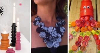 Ne jetez pas les bouchons en plastique : 13 idées incroyables pour les recycler avec fantaisie et créativité