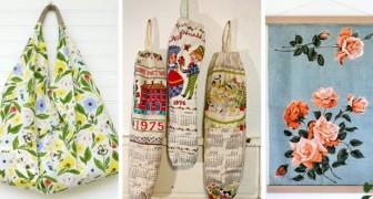 Riutilizza con creatività i vecchi strofinacci con questi 10 fantastici progetti di riciclo