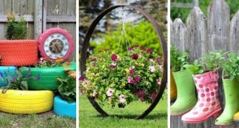 Fioriere fai-da-te con oggetti di scarto: scopri come dare un tocco unico alle tue piante con questi progetti