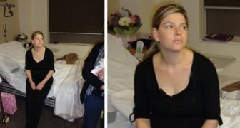 Una mamma esausta spiega il perché non si dovrebbe far visita a chi ha appena partorito