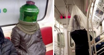 On the edge of reality: 15 examples of eccentric people encountered by chance on public transportation