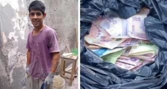 Maurer findet Tasche voller Geld und gibt sie dem Besitzer zurück: belohnt mit einer Festanstellung