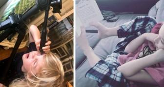15 foto esilaranti dimostrano come i bambini seguano delle regole tutte loro