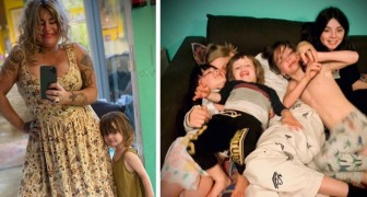 Mamma fissa degli orari per prendersi cura dei suoi 7 figli: dopo le 19:30 si dichiara fuori servizio