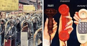 Rétrofuturisme : 15 images décrivent comment le futur était imaginé dans le passé