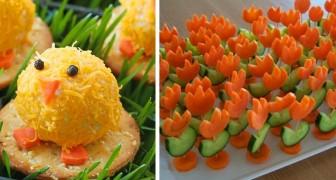 7 idee divertenti per stupire i vostri ospiti con degli squisiti antipasti di Pasqua