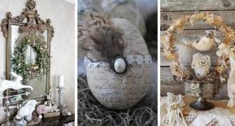 Pasqua shabby-chic: 10 idee affascinanti per decorare con un elegante tocco vintage