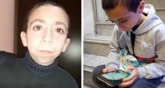 A young boy wants to spend all his savings to find the cell phone where he kept his mom's photos