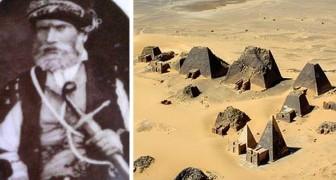 Demolì oltre 40 piramidi per cercare tesori: l'incredibile storia di Giuseppe Ferlini