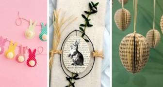 Decora per Pasqua con carta e cartoncino riciclato: tante idee per dare sfogo alla creatività
