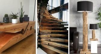 Meublez de façon naturelle grâce au bois avec ces 12 astuces pour créer des pièces incroyables