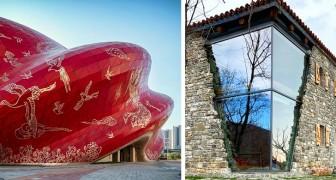 Architettura spettacolare: 18 esempi di edifici che non ci stancheremmo mai di ammirare