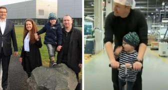 I colleghi lavorano 3000 ore in più per permettere a questo papà di prendersi cura del figlio affetto da leucemia