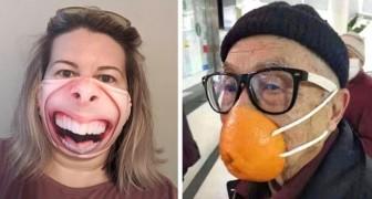 16 fois où des personnes ont personnalisé leurs masques avec des résultats à la limite du ridicule