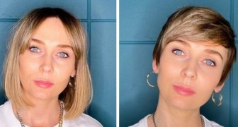 A hairdresser encourages her clients to change their look with a short cut: 15 well executed styles