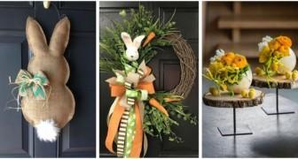Pasqua: decora la casa in modo fantasioso con una di queste 12 creazioni incantevoli