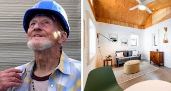 Quest'uomo di 70 anni è il primo senzatetto a ricevere un casa stampata in 3D