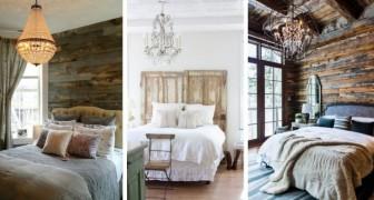 Porta una ventata di stile rustico in camera da letto con questi fantastici spunti d'arredo