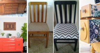 Donnez une nouvelle vie à vos vies à vos vieux meubles grâce à ces astuces DIY simples mais super efficaces