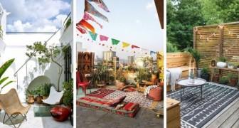 Salons de rêve en plein air : de nombreuses idées merveilleuses dont vous inspirer pour vos jardins, cours et balcons