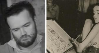 Affetto da paralisi cerebrale, ha usato il suo piede sinistro per scrivere e dipingere: una storia di grande coraggio