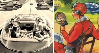 Hoe zagen onze voorouders de toekomst? 17 fascinerende en profetische beelden laten het ons zien