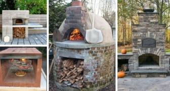 Cucinare all'aria aperta: 14 spunti strepitosi per realizzare forni a legna da giardino