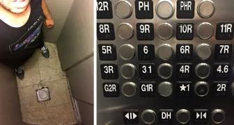 16 ascensori così privi di logica che hanno fatto venir voglia alle persone di prendere le scale