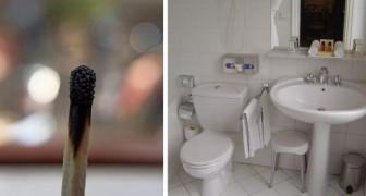 Eliminare i cattivi odori in bagno? Prova col trucco del fiammifero bruciato e con altri rimedi ingegnosi