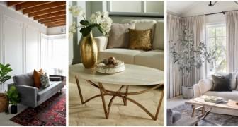 Vous voulez un salon plus élégant et plus chic ? Changez quelques détails grâce à ces astuces