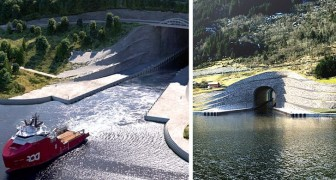 La Norvegia costruirà il primo tunnel navale al mondo progettato per grandi imbarcazioni