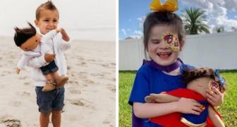 Sie baut Puppen mit den gleichen körperlichen Merkmalen wie Kinder: So will sie ihnen helfen, Vielfalt zu akzeptieren