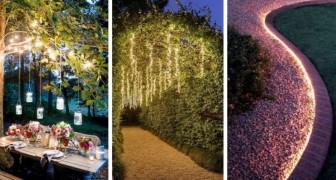Luci fai-da-te in giardino: rendi magico il tuo spazio verde con questi splendidi allestimenti