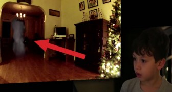 They place a hidden camera in the house: this kid can't believe who turns up !