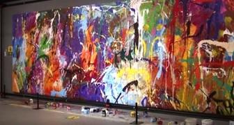 Sie verwechseln ein 440.000 Dollar teures Gemälde mit einem interaktiven Werk und übermalen es: verhaftet