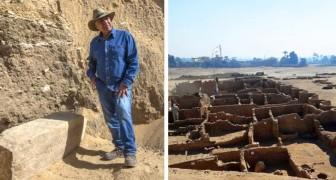 Égypte : la Cité d'or perdue mise au jour. Il s'agit de la découverte la plus importante après celle du tombeau de Toutankhamon