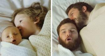 Nostalgie: 15 Menschen stellen alte Familienfotos nach, um sich an die guten vergangenen Zeiten zu erinnern