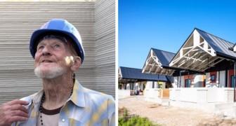 Il était sans abri, aujourd'hui il est le premier homme à vivre dans une maison construite grâce à l'impression 3D
