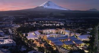 Tra natura e tecnologia: Toyota sta costruendo la città del futuro alle pendici del Monte Fuji